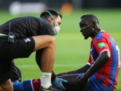 Crystal Palace's Mamadou Sakho is among those who have returned to training (Catherine Ivill/NMC Pool/PA)