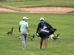 Germany's Nicolai Von Dellingshausen held a three-shot lead at halfway in the Tenerife Open (David Davies/PA)