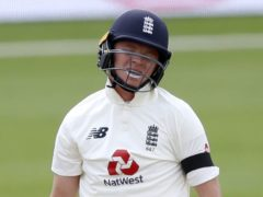 Ollie Pope was among a number of England batsmen to struggle in India (Alastair Grant/PA)