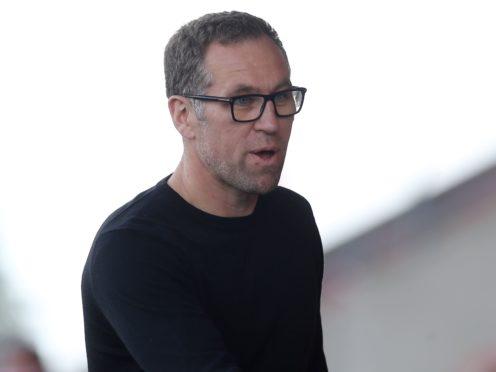 David Artell saw Crewe end their winless run (Martin Rickett/PA)