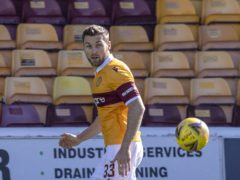 Stephen O' Donnell won the game for Motherwell (PA)