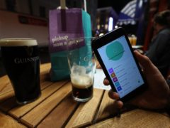 Age UK warned older drinkers without smartphones are at risk of discrimination in pubs (Yui Mok/PA)