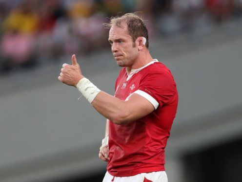 Wales captain Alun Wyn Jones (PA)