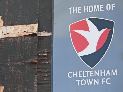 Cheltenham will play host to Colchester this weekend (Nigel French/PA)