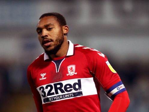 Britt Assombalonga will not play for Middlesbrough again as his contract runs down (Tim Goode/PA)