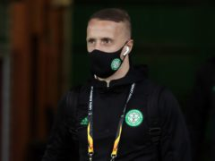 Hibs may be interested in offering Leigh Griffiths an Easter Road return, if he becomes available (Andrew Milligan/PA)
