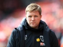 Eddie Howe is in talks with Celtic about vacant managerial post (Mike Egerton/PA)