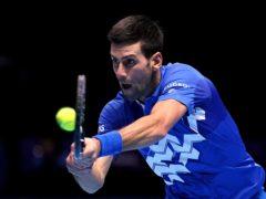Novak Djokovic, pictured, was beaten by Dan Evans in Monte Carlo (John Walton/PA)