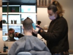 Hairdressers said they have been inundated with people wanting appointments (Yui Mok/PA)