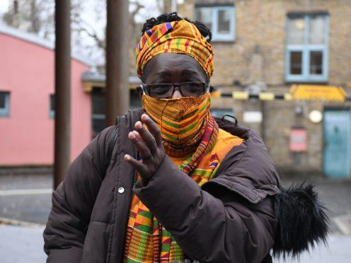 Rosamund Kissi-Debrah outside Southwark Coroner's Court (Kirsty O'Connor/PA)