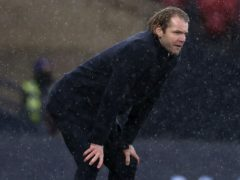 Hearts manager Robbie Neilson (Andrew Milligan/PA)