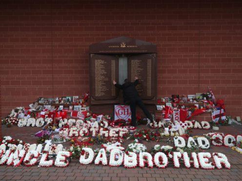 Hillsborough memorial (Nick Potts/PA)
