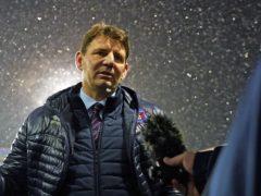 Carlisle manager Chris Beech felt his side deserved to beat Barrow (Zac Goodwin/PA)