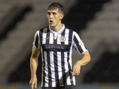 Jamie McGrath has been backed for an international call-up by his St Mirren manager (Jeff Holmes/PA)