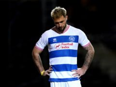 Charlie Austin is suspended for QPR (Zac Goodwin/PA)