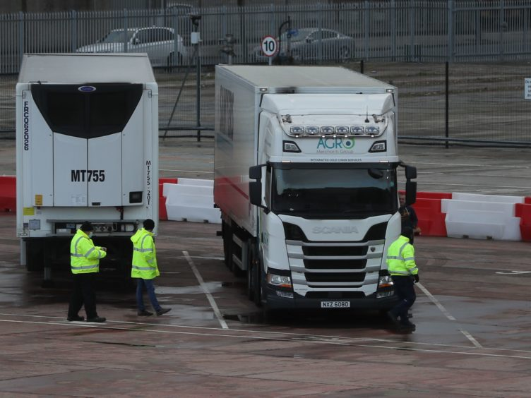 The Brexit Withdrawal Agreement has led to checks on goods travelling from the rest of the UK to Northern Ireland (Brian Lawless/PA)