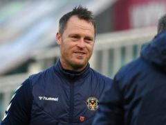 Newport manager Michael Flynn has no new injury worries for Scunthorpe's visit in League Two (Simon Galloway/PA)