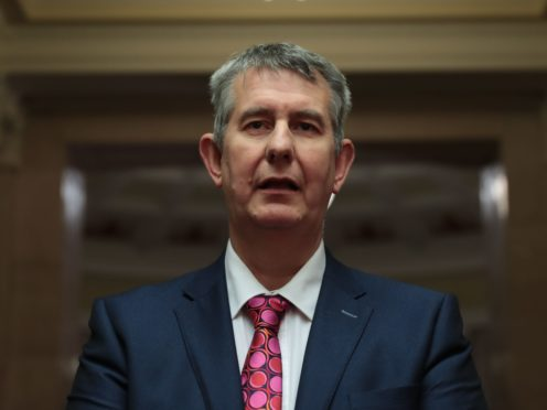Stormont minister Edwin Poots (PA)