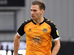 Newport's Mickey Demetriou is suspended (Simon Galloway/PA)