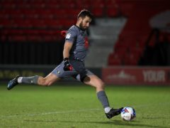 Harrogate goalkeeper James Belshaw made a string of fine saves against Walsall (Mike Egerton/PA)
