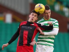 St Mirren's Jamie McGrath (left) has been tipped to reach the same heights as Celtic ace David Turnbull (Andrew Milligan/PA)