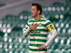 Callum McGregor is in contention to take over from Scott Brown as Celtic captain (Andrew Milligan/PA)