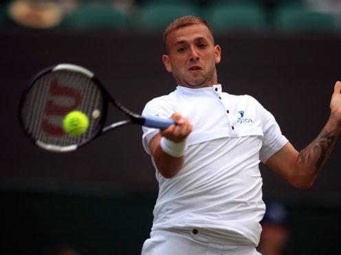 Dan Evans defeated Novak Djokovic to reach the quarter-finals in Monte-Carlo (Adam Davy/PA)