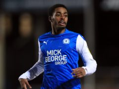 Peterborough could have Reece Brown back in the matchday squad for the visit of Lincoln (Mike Egerton/PA)