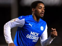 Peterborough's Reece Brown is available to face Doncaster after injury (Mike Egerton/PA)