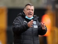 Sam Allardyce will sit down and discuss his future if West Brom are relegated (Carl Recine/PA)