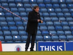 Tommy Wright's side are heavy favourites against Montrose (Andrew Milligan/PA)
