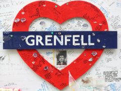 Victims' and survivors' group Grenfell United said it was 'deeply disappointed' that ministers had 'broken their promises to leaseholders' (Jonathan Brady/PA)