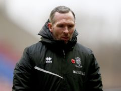 Lincoln manager Michael Appleton (Tim Markland/PA)