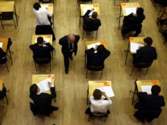 Teachers have called for GCSEs and A-levels to be replaced with alternative assessments (David Jones/PA)