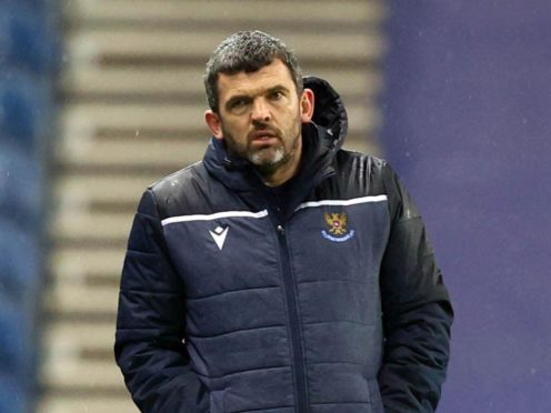St Johnstone manager Callum Davidson will tackle an Old Firm side next (Jeff Holmes/PA)