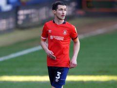 Dan Potts could return for Luton (Tess Derry/PA)