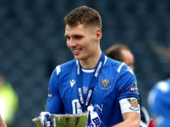 St Johnstone captain Jason Kerr is looking for more cup success this season (Andrew Milligan/PA)