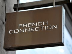 Fashion retailer French Connection has reported plunging revenues and losses for the past year (Nick Ansell/PA)