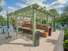 The Royal Enfield, Redditch. Wetherspoon is to open beer gardens, rooftop gardens and patios at 394 of its pubs in England when the lockdown continues to ease from April 12, the company has announced (Wetherspoon/PA)