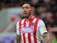 Ryan Bowman snatched a winner for Exeter (Mark Kerton/PA)