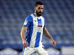 Alex Vallejo could return to Huddersfield's squad after a head injury (Tim Goode/PA)
