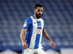 Alex Vallejo could return for Huddersfield against Rotherham (Tim Goode/PA)