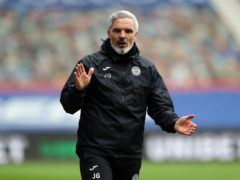 Jim Goodwin has re-evaluated his targets (Jane Barlow/PA)