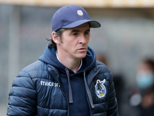 Bristol Rovers manager Joey Barton could be without a host of players against MK Dons (Richard Sellers/PA)