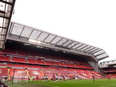 Liverpool have announced a loss of £46m for financial year ending May 2020 (PA)