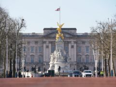 A man has been charged with trespassing at Buckingham Palace with a knife (Aaron Chown/PA Wire)