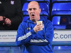 Ipswich manager Paul Cook was relieved to see goalkeeper Tomas Holy avoid a red card (Joe Giddens/PA)