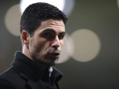 Mikel Arteta's side gave themselves hope with an away goal (Nick Potts/PA)