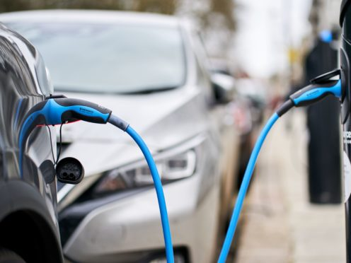 Cars on roads will increasingly be electric as part of efforts to cut carbon (John Walton/PA)