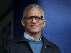 Keith Curle's Oldham lead the League Two scoring charts with 70 goals so far (Martin Rickett/PA)
